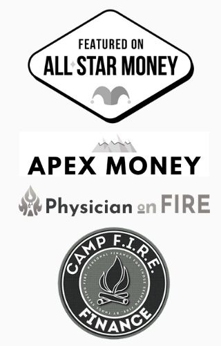 As Seen In All-Star Money, APEX Money, Physician on FIRE, and Camp FIRE Finance