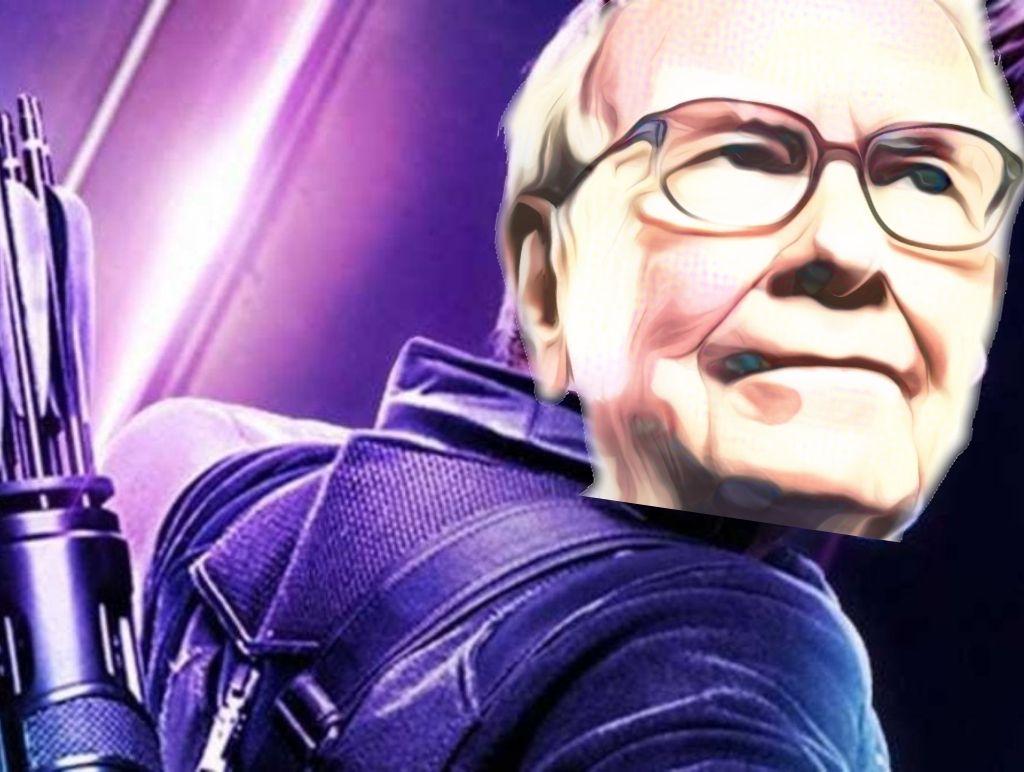 Warren Buffett and Berkshire Hathaway as Hawkeye