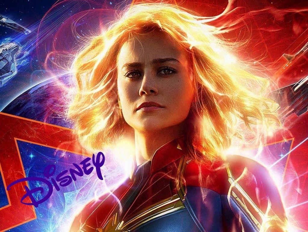 Disney as Captain Marvel