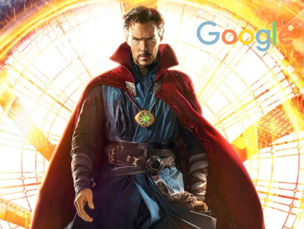 Google as Doctor Strange