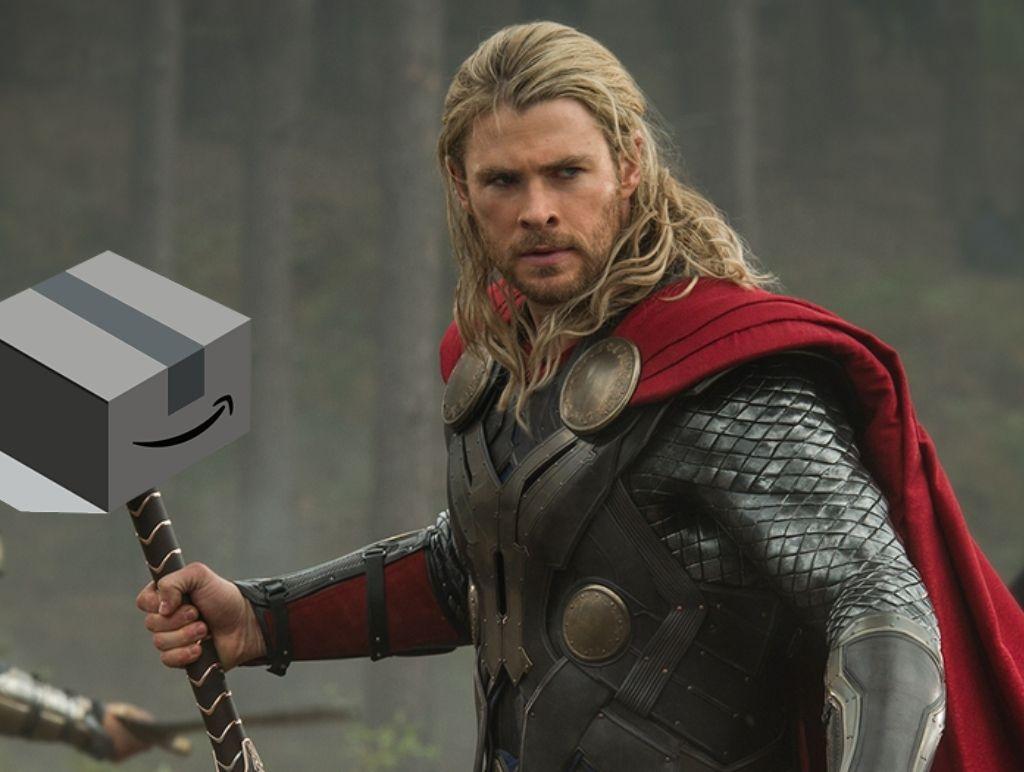 Amazon as Thor