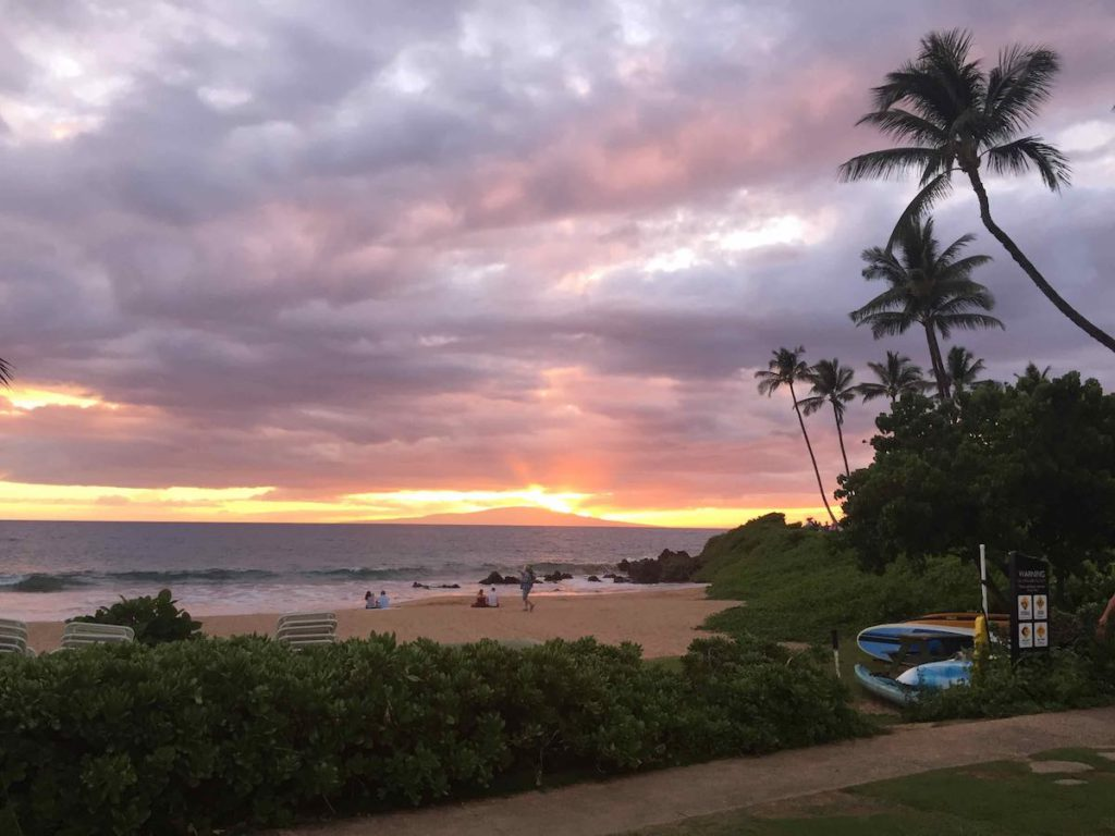 Fairmont Kea Lani Maui Sunset