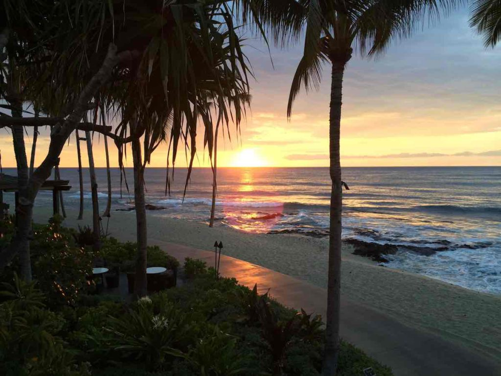 Four Seasons Resort Hualalai Big Island Sunset