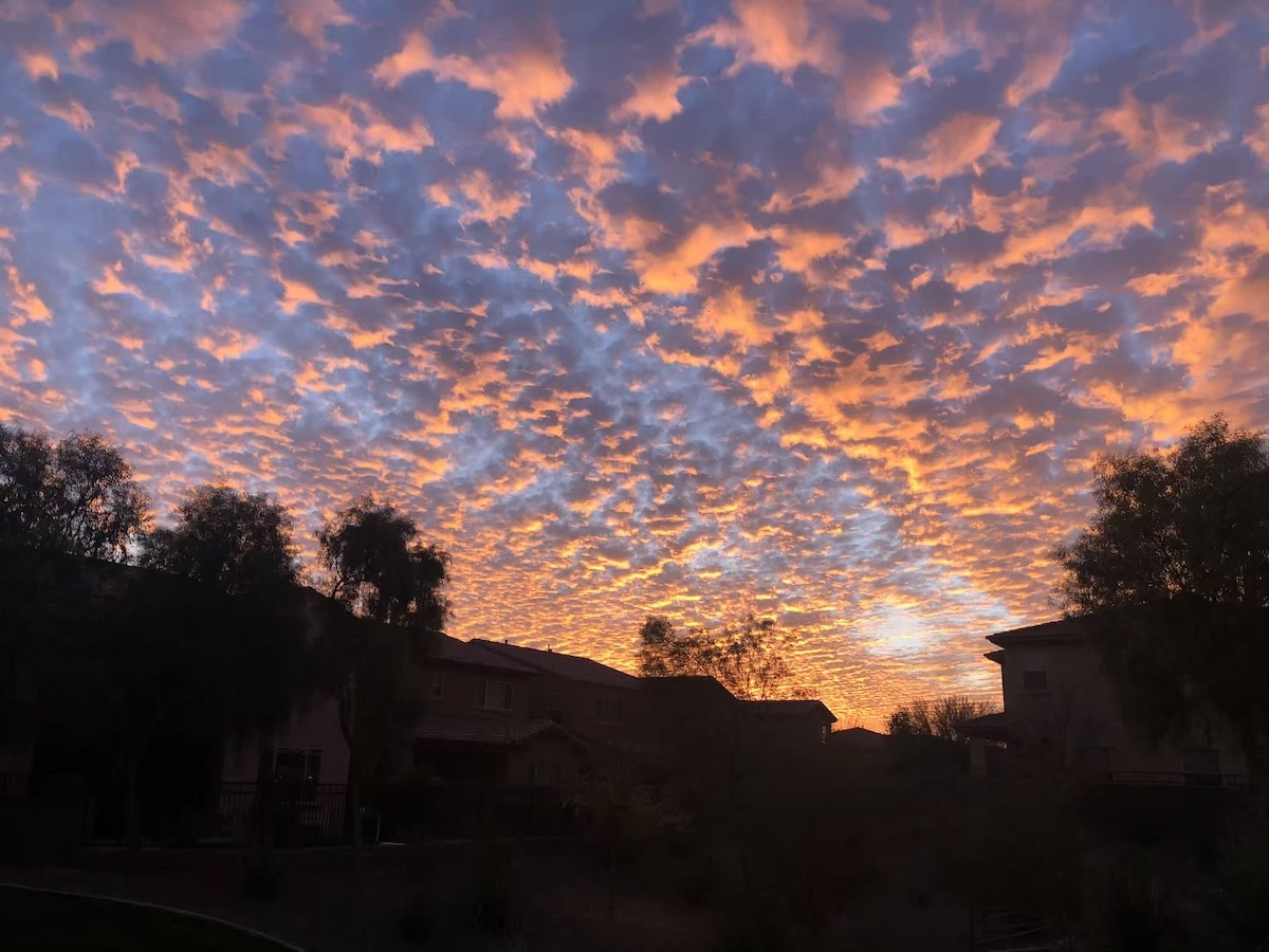Sunset with Amazing Clouds