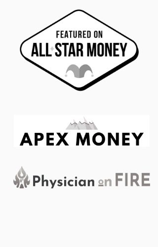 As Seen In All-Star Money, APEX Money, Physician on FIRE