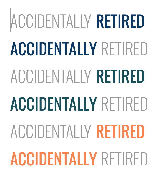 Accidentally Retired Logo Concepts